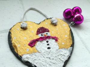 snowman-wall-art