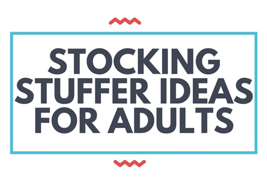 stocking stuffer ideas for adults