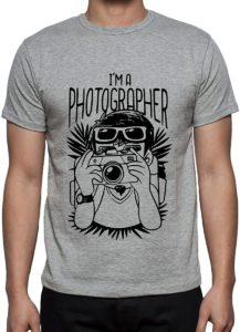 T-shirt for photographer