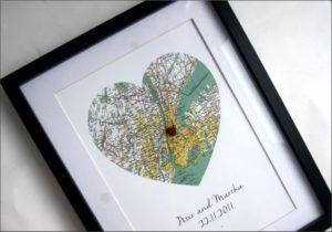 Map frame