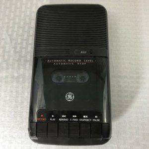 tape recorder cum loudspeaker