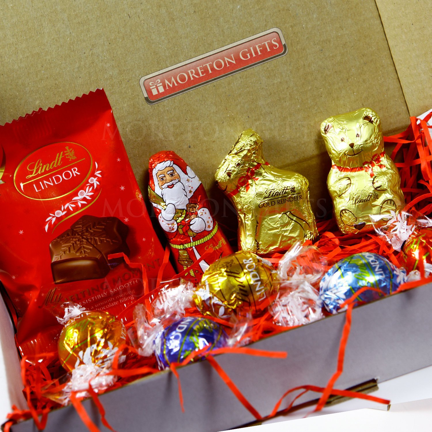 The Lindt Christmas Chocolate Treat Box