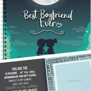 Best Boyfriend Ever Memory Book