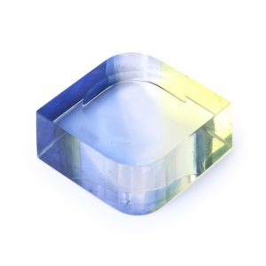 Blue Acrylic Paper Weight Stylish Paper Weight