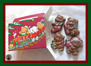Christmas Bear Chocolates