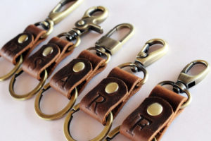 durable-and-stylish-monogrammed-leather-key-chain