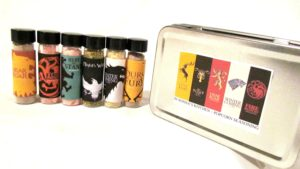Game of Thrones Gift Popcorn Seasoning set