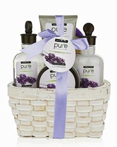 Large Lavender Spa Gift Basket