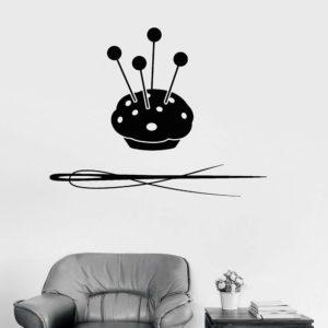 Sewing room art