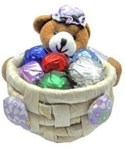 Skylofts Cute Teddy Chocolate Basket