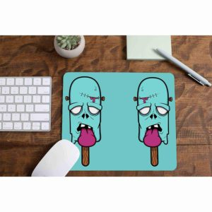 Zombie Ice Cream Thick Mouse Pad