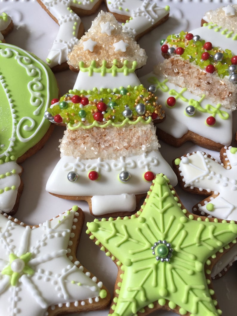 Christmas Decorated Cookies gift