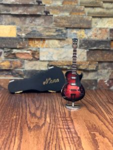 miniature Gibson Guitar