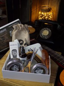 Men's grooming gift basket