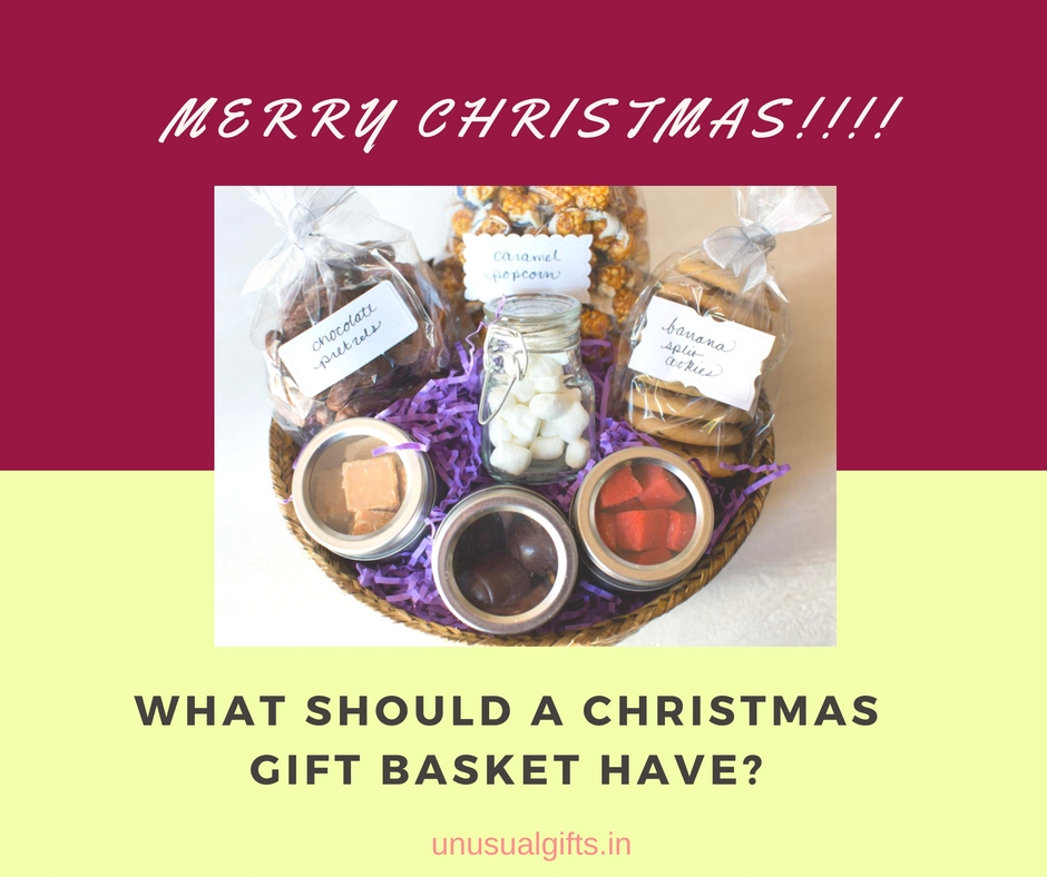 Christmas gifts baskets