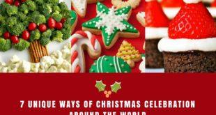 7 unique ways of Christmas celebration around the world
