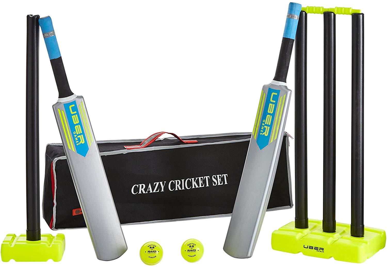 Crazy cricket set