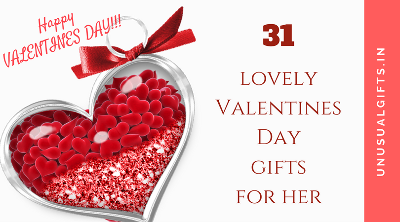 31 lovely valentines day gifts for her unusual gifts for Best online valentines gifts
