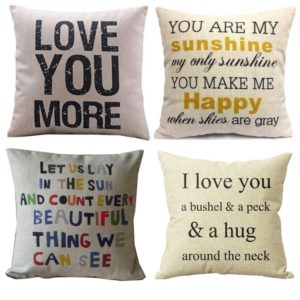 pillow cover - Valentines Day gifts for her