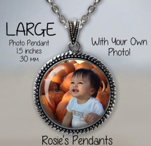 A pendant with your photo