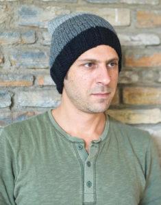 A beanie cap