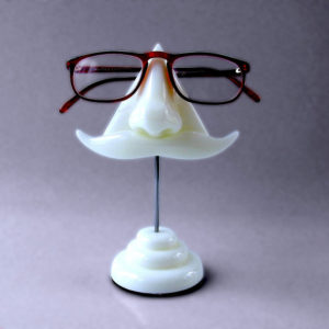 A glasses holder
