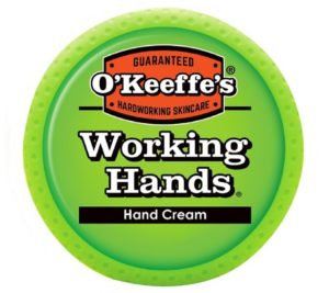 A hand cream for the working hands