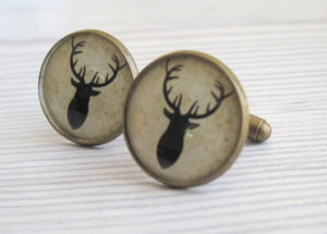 A pair of cufflinks for the gentleman