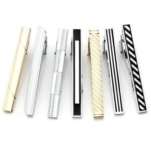 A set of tie clips
