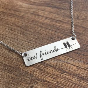 Best Friends Necklace Gift