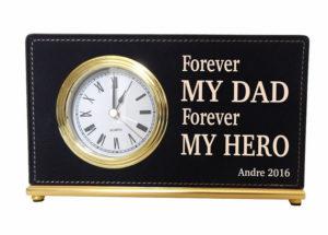 Dad Desk Clock