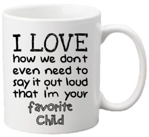 Favorite Child Ceramic Mug