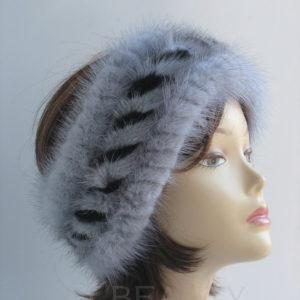 Knit woolen headband