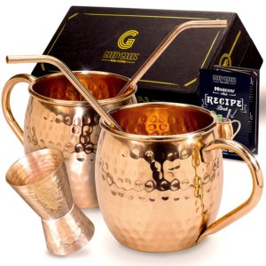 Magnificent Moscow Mule Copper Mugs