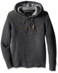 A hooded sweater for the winter