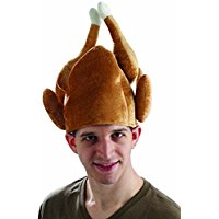 Forum Novelties Men's Roasted Turkey Hat