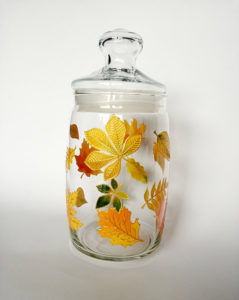 Hand-painted glassware