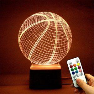 Remote control basketball light