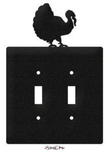 Thanksgiving bird light switch cover