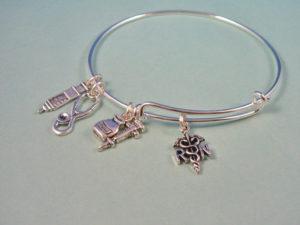 A designer bracelet