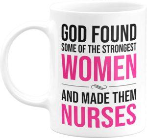 Coffee mug for the nurse