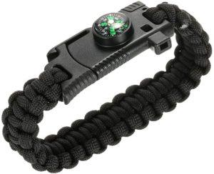 Fishing kit with survival bracelet