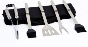 Grilling set for camping