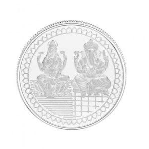 A 100 gram silver coin