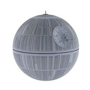Death star ornament with sound and light