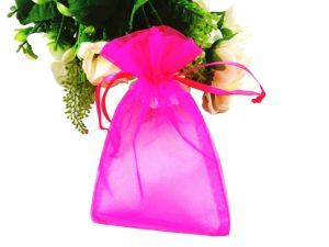 Drawstring Organza Jewellery Christmas Gift Bag