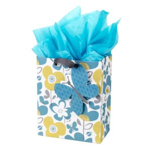 Flowers and Butterflies Gift Bag