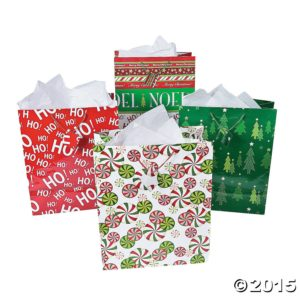 Fun Express Christmas Gift Bags