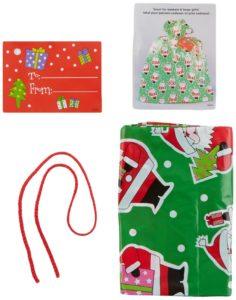 Jumbo Plastic Santa Gift Bags