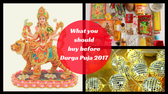 ... brings along the thrill and fervor of puja shopping on this auspicious occasion that starts with clothing, books, footwear and other traditional gift ...